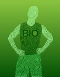 Bio Man Royalty Free Stock Photos