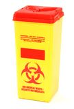 Bio-Medical Waste Box Royalty Free Stock Photos