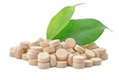 Bio medicina de las píldoras foto de archivo