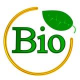 BIO muestra, 3d Imagen de archivo libre de regalías