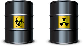 Bio and Nuclear hazard Stock Images