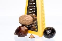 Bio nutmeg Stock Image