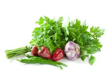 bio nya grönsaker Royaltyfri Bild