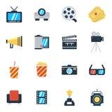 Bio och filmer Arkivbild