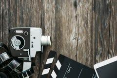 Bio och videomaking Arkivfoto