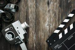 Bio och videomaking Royaltyfri Fotografi