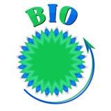 Bio- oggetto circolare Immagine Stock