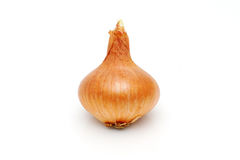 Bio onion  on white background Stock Photo