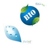 Bio ontwerpelementen Stock Fotografie