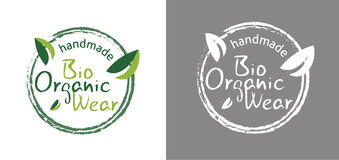 Bio organic wear tag Stock Image