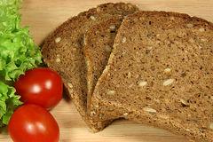 bio pão Imagem de Stock Royalty Free