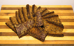 Bio pão natural Imagem de Stock Royalty Free