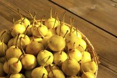 Bio pears Royalty Free Stock Photography