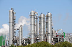 Bio planta 2 del etanol Imagen de archivo