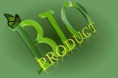 Bio produkt Arkivbild
