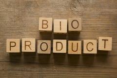 Bio produto Imagens de Stock