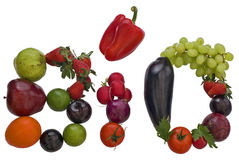 Bio produtos Foto de Stock Royalty Free