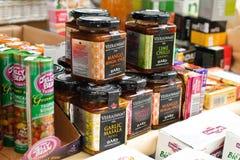 Bio produtos ao ar livre Foto de Stock