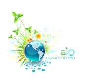 Bio projeto Ilustração Stock