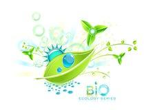 Bio projeto abstrato Ilustração Royalty Free