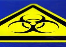Bio- rischio! Fotografie Stock Libere da Diritti