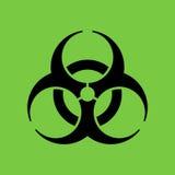 Bio símbolo del peligro Imagen de archivo