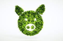 bio- segno della carne di maiale 3d Fotografia Stock Libera da Diritti