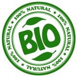 Bio sello natural Imagen de archivo libre de regalías