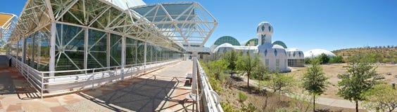 Bio- sfera 2 - panorama immagini stock libere da diritti