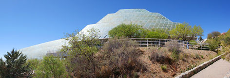 Bio- sfera 2 - panorama fotografia stock
