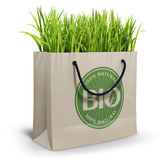 Bio Shopping bag Royalty Free Stock Images