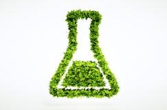 bio sinal da ciência 3d ilustração stock