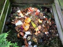 Bio- spreco e composta freschi immagini stock