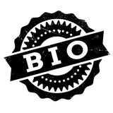 Bio stamp rubber grunge Stock Image