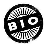 Bio stamp rubber grunge Stock Photography