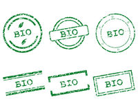 Bio stamps Royalty Free Stock Photography