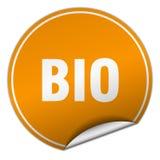Bio sticker. Bio round sticker isolated on wite background. bio Stock Image