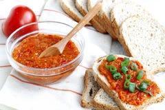 Bio- stufato della verdura fresca Immagini Stock