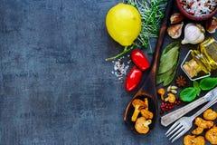 Bio sund mat royaltyfria bilder