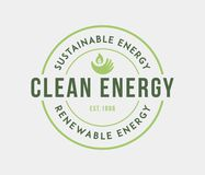Bio sustainable energy. Is a illustration for any use royalty free illustration