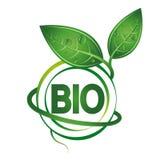 Bio symbol design Royalty Free Stock Photos