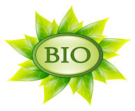 Bio symbol isolated Royalty Free Stock Photography