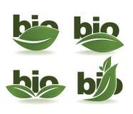 Bio symbols Stock Image