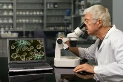 Bio Technologie Royalty-vrije Stock Afbeeldingen