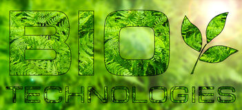 BIO technologies Royalty Free Stock Photography
