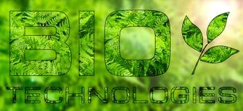 BIO tecnologias Fotografia de Stock Royalty Free