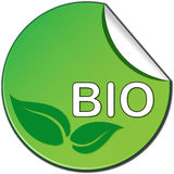 Bio ticket Royalty Free Stock Photo