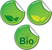 Bio Tickets Royalty Free Stock Images