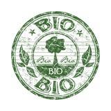 Bio- timbro di gomma del grunge illustrazione di stock