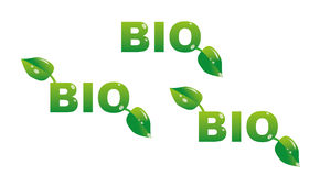Bio titles Stock Photography